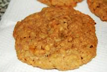Fall / Holiday: Warm Oatmeal Cookie